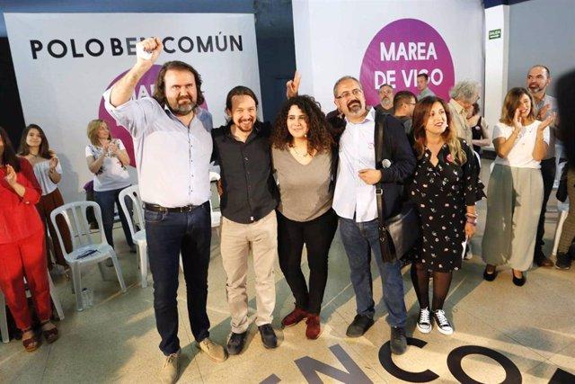 """26M.- Pérez (Marea de Vigo) pide a la ciudad """"perder el miedo por fin"""" ante las """"amenazas"""" y el """"clientelismo"""""""