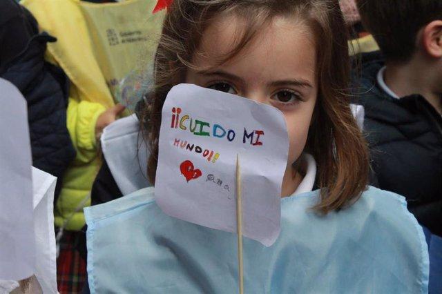 La Campaña Mundial por la Educación pide al Gobierno que incluya la sostenibilidad en el currículo escolar