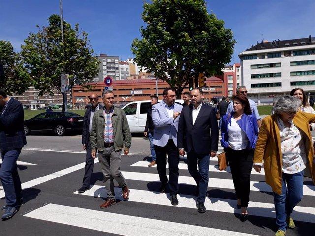 """26M-A.- """"No Damos La Espalda"""", Sostiene Ábalos Sobre Los Problemas De Asturias"""