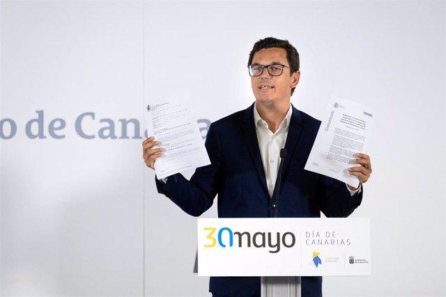 """Consejo.- Canarias llevará a la Audiencia Nacional la """"mentira"""" de Fomento sobre la deuda en carreteras"""