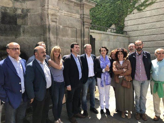 """26M.- Valerio (PSOE) Pide """"Acabar Con El Nepotismo Y El Caciquismo"""" Del Gobierno Del PP En La Diputación De Ourense"""