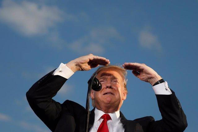 """México/EEUU.- Trump promete llevar el muro existente en la frontera con México a """"un estándar muy alto"""""""