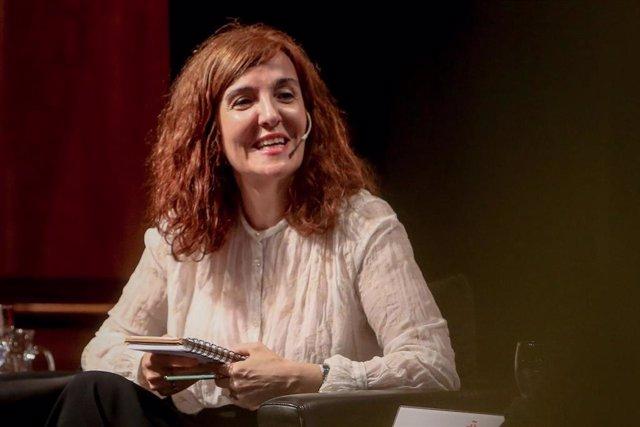 Encuentro 'Feminismos contemporáneos y emoción feminista' celebrado en el Instituto Cervantes en Madrid.