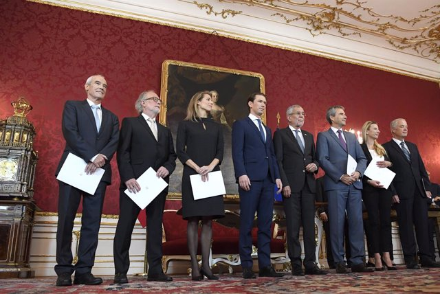 Swearing-in of the new Austrian Ministers in Vienna