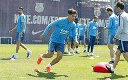 Coutinho torna als entrenaments i apunta a la final de Copa (FCB)