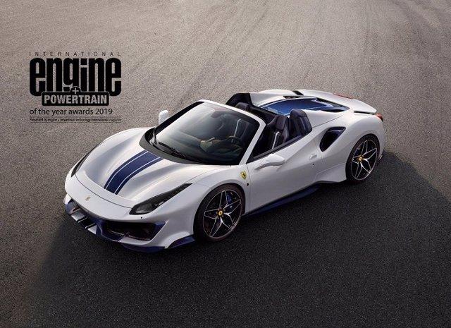 Economía/Motor.- El motor V8 de Ferrari gana por cuarta vez consecutiva el International Engine & Powertrain of the Year