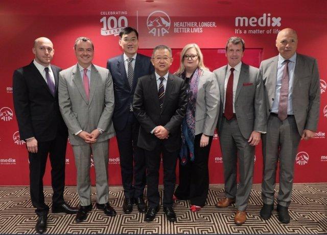 COMUNICADO: AIA acuerda una asociación regional exclusiva de Asia y el Pacífico con Medix (parte 1)