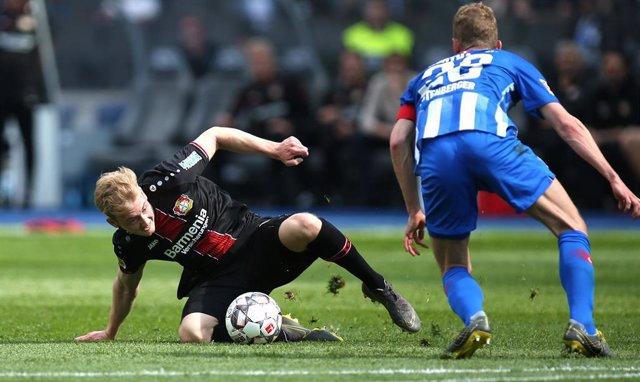 Germany Bundesliga - Hertha BSC vs Bayer Leverkusen
