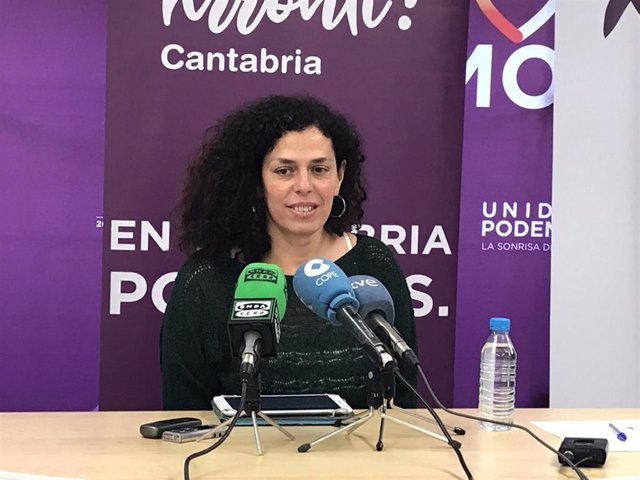 """26M.- Podemos confía en mantener o superar los tres diputados en Cantabria y ser """"el voto útil"""" el 26M"""