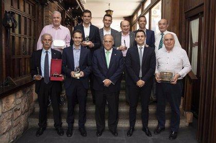 Los delegados del Betis y Cádiz y Undiano Mallenco, homenajeados por LaLiga
