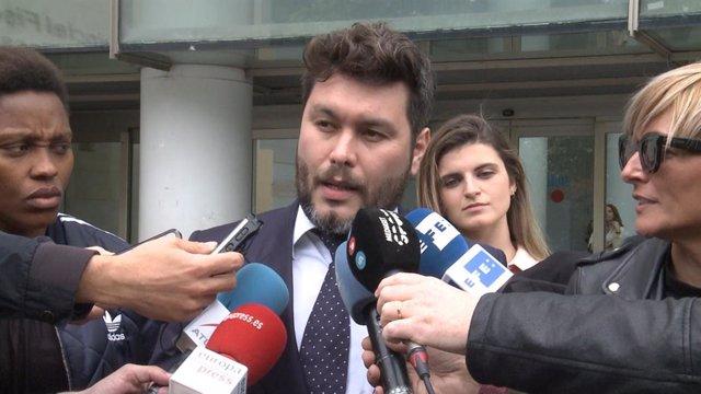 El abogado del jugador del Villarreal Rubén Semedo declara tras el juicio