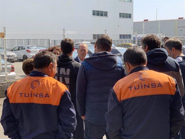 """26M-M.- Gijón.- Aurelio Martín: """"Izquierda Unida Siempre Ha Estado Al Lado De Los Trabajadores Y Así Seguirá Siendo"""""""