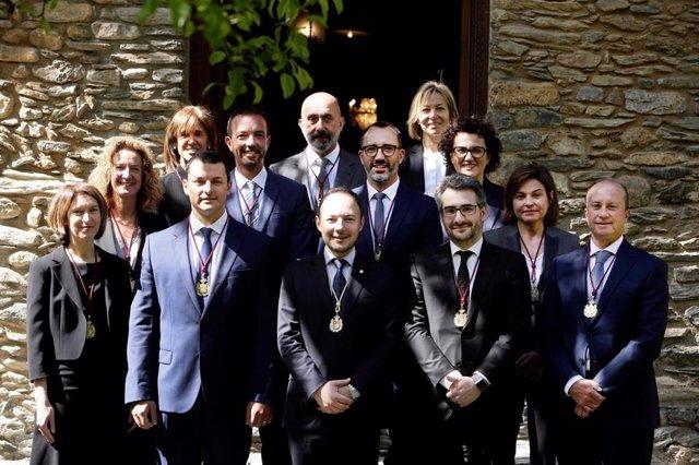 Los ministros del nuevo Gobierno de Andorra juran el cargo