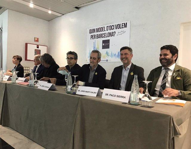 26M.- El Futur De l'Oci Nocturn En El Port Olímpic Enfronta Als Candidats Municipals En Un Tibant Debat