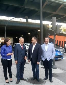 26M-M.- López (PSOE) Celebra Que Las Obras Del Puente Nicolás Soria Comiencen En Otoño