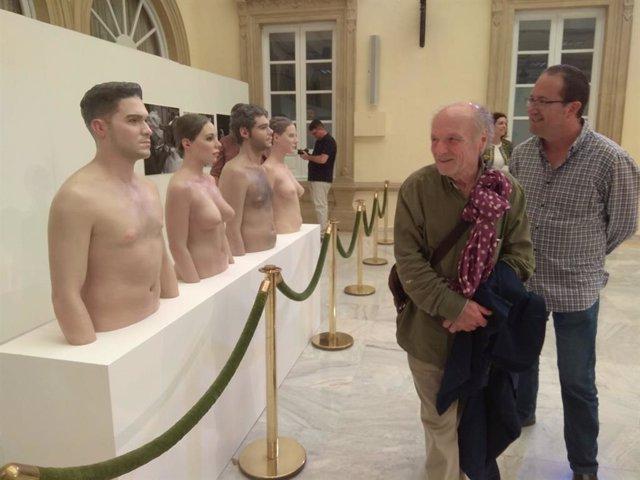 SaboresAlmería.-El futuro Museo del Realismo cuenta ya con cuatro esculturas de Antonio López y Andrés García Ibañéz