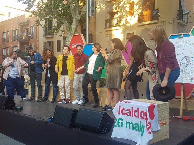 """26M.- Colau Defiende Que Las Políticas Feministas Y LGTBI Son Una """"Oportunidad Democratizadora"""""""