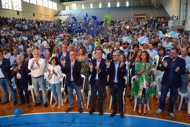"""26M.- Feijóo Culpa Al PSOE De """"Burlarse De Los Españoles"""" E """"Incumplir La Constitución"""" En El Estreno Del Congreso"""