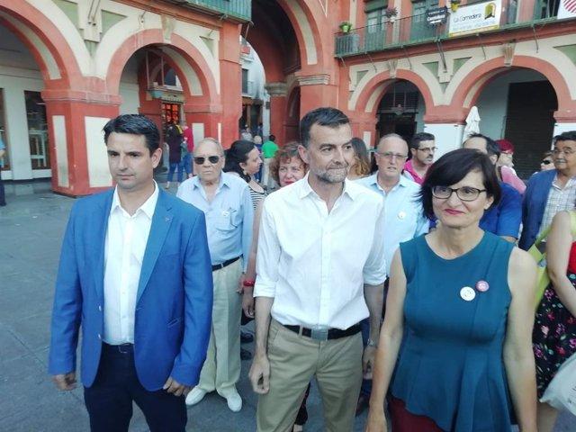 """Córdoba.- 26M.- Maíllo afirma que Córdoba volverá a ser """"referente de políticas de izquierdas"""" gracias a IU"""
