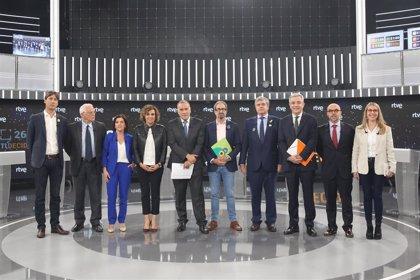 El debate de los candidatos europeos se convierte en una bronca discusión sobre Cataluña