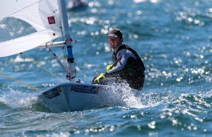 Joaquín Blanco sube a la quinta posición en el Campeonato de Europa de la clase Laser