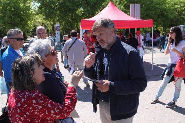 26M.- Dolz (PSOE) propone que los servicios sociales de Cuenca sean itinerantes en pedanías y centros sociales
