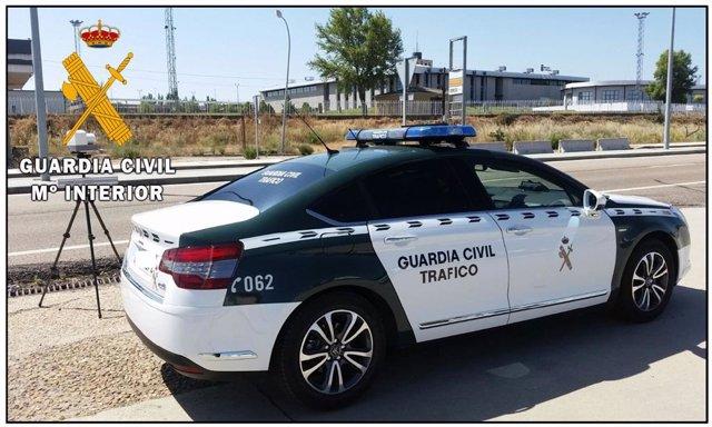 Sucesos.- Sorprendido un conductor a 218 kilómetros por hora en la A-50 en Villar de Gallimazo (Salamanca)