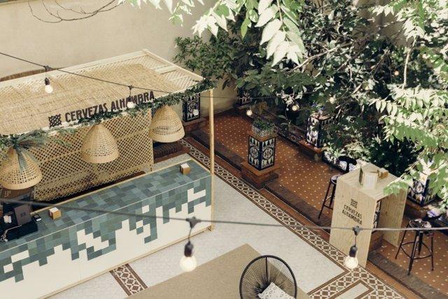 COMUNICADO: Cervezas Alhambra presenta en Madrid el espacio Jardín Cervezas Alhambra