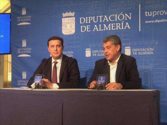 SaboresAlmería.-La Diputación y la UAL firman un acuerdo de colaboración con 120.000 euros para actividades académicas