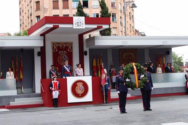 Los Reyes presidirán el 1 de junio en Sevilla un desfile de las Fuerzas Armadas que homenajeará los 30 años de misiones