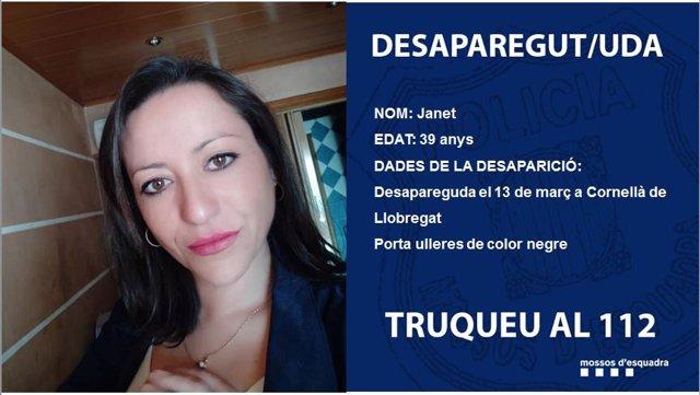AMP.- Successos.- El cadàver trobat al Prat (Barcelona) és de Janet Jumillas