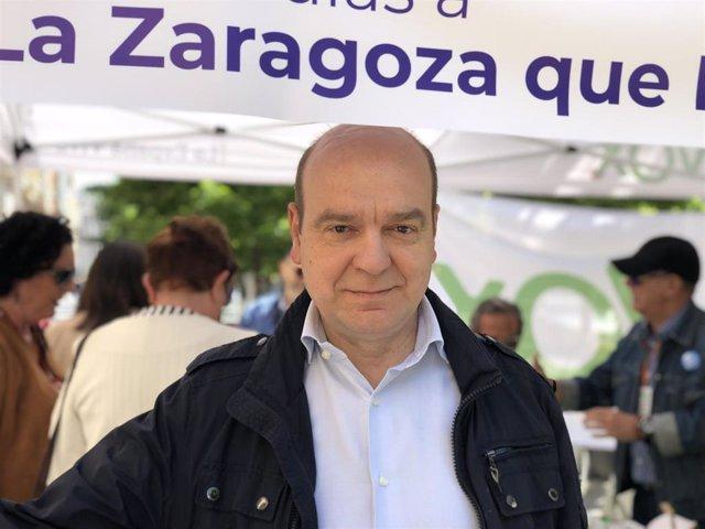 """26M.- Morón (Vox) Se Fija Como Objetivo Tener Grupo Parlamentario En Las Cortes Y Dice Que No Serán """"Muletilla De Nadie"""""""