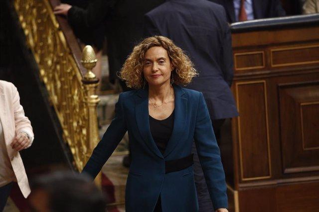 Meritxell Batet, elegida presidenta del Congreso en la segunda votación