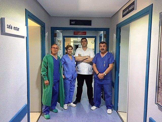 Jaén.- El Hospital de Linares registra la primera donación bipulmonar de la provincia