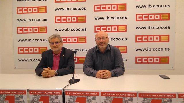 26M.- CCOO Insta Al Electorado A Votar A Las Fuerzas De Progreso En Baleares Para Revalidar El Pacte