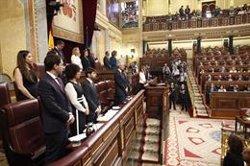 Elizo (Podem) no descarta tornar a preguntar al Suprem sobre la suspensió dels diputats presos (Eduardo Parra - Europa Press)