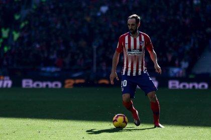 Juanfran Torres anuncia su despedida del Atlético de Madrid tras ocho años y medio