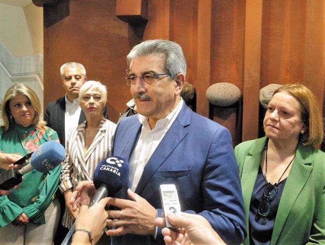 """26M.- Rodríguez (NC) apuesta por una """"renta canaria de ciudadanía"""" para que """"nadie"""" tenga ingresos menores a 600 euros"""
