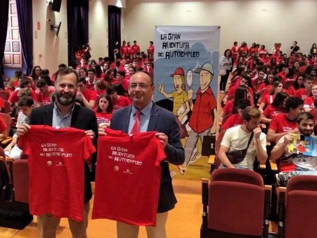 CórdobaÚnica.- 'La gran aventura del autoempleo' reúne en la Diputación a 350 estudiantes de nueve municipios