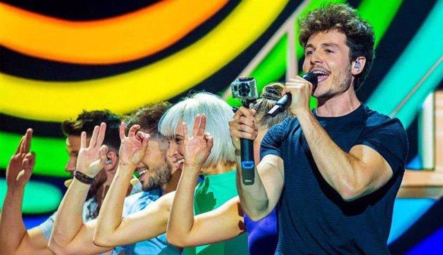 VÍDEO: Miki defenderá hoy 'La Venda' en la última posición de la gran final de Eurovisión 2019