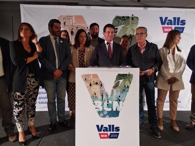 """26M.- Valls Avisa Que Collboni Farà A Colau Alcaldessa Perquè """"Li Ordenaran Des de Madrid"""""""