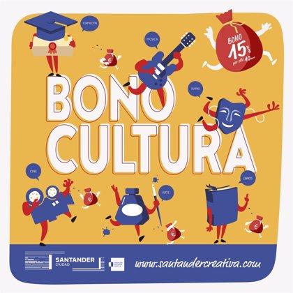 El Ayuntamiento de Santander lanzará 10.000 Bonos Cultura a partir de junio