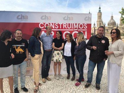 """Asensio subraya que CHA es la """"mejor garantiá"""" de que no avancen las """"políticas rancias de la derecha"""" en Zargoza"""
