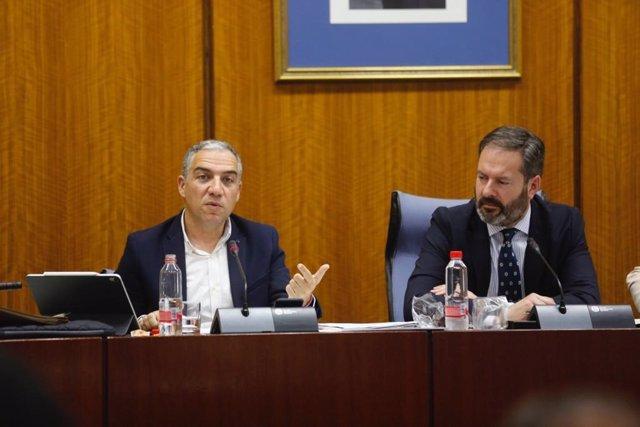 """Bendodo: Andalucía será """"beligerante"""" para reclamar al Gobierno """"hasta el último céntimo"""" para la financiación"""