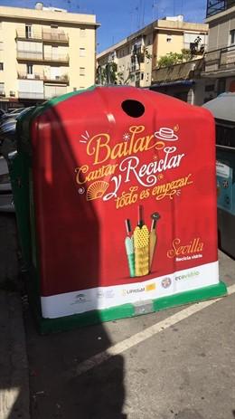Sevilla.- Ecovidrio recicla en la última Feria la mayor cantidad de envases de vidrio en seis años, hasta 431 toneladas