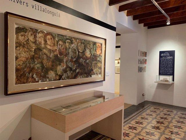 La família Llabrés Bernat dóna l'obra del 'Carnestoltes de Bearn' al Consell de Mallorca