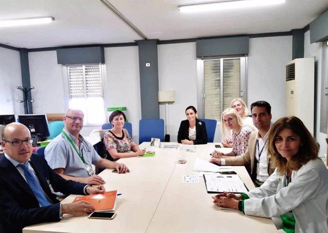Sevilla.- Directivos del Hospital de Tartu (Estonia) visitan el Macarena para conocer su modelo de gestión ambiental