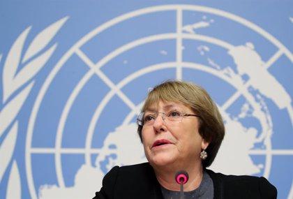 """Bachelet alerta de que la ley que de justicia transicional podría provocar una """"amnistía de facto"""""""