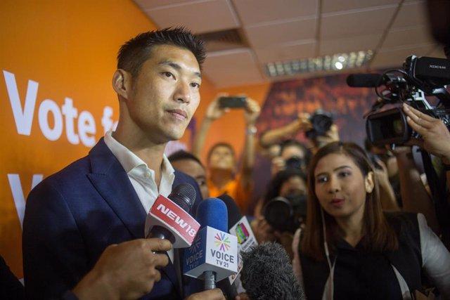 Tailandia.- La Policía interrogará al joven líder opositor Thanathorn por una denuncia del Ejército por sedición