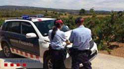 Mor el conductor d'un tractor en un camí rural de Subirats (Barcelona) (MOSSOS D'ESQUADRA - Archivo)